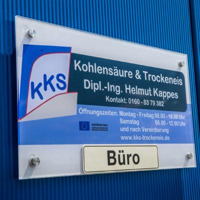 kks-kohlensäure-und-trockeneis-büroschild